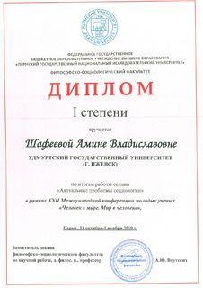 Диплом Шафеева