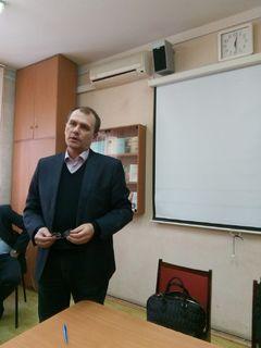 Встреча Ректората с трудовым коллективом ИППСТ 8